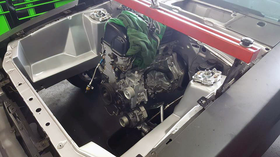 Mustang with a Turbo K20/K24 – Engine Swap Depot