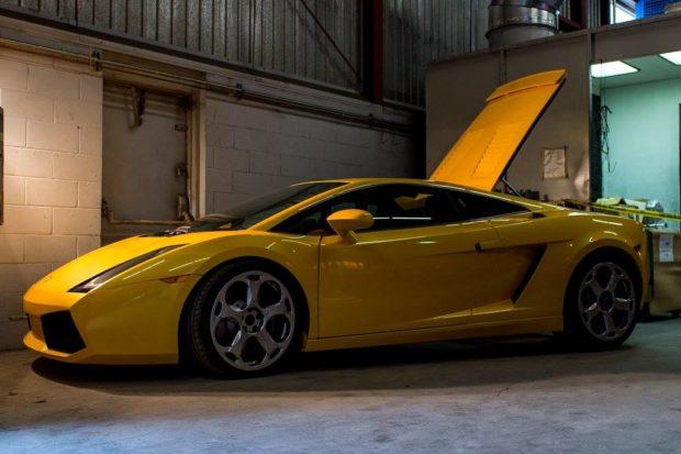 Lamborghini Gallardo with a 26B four-rotor