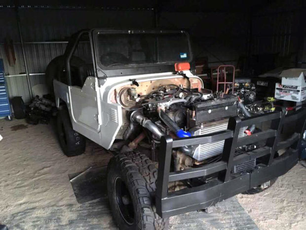 Land Cruiser with a Twin-Turbo 1GZ-FE V12