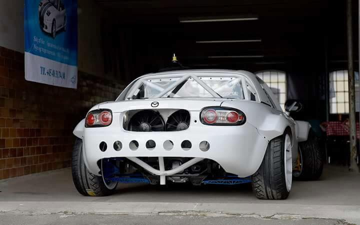 Mazda Mx 5 With A Turbo Lsx Engine Swap Depot