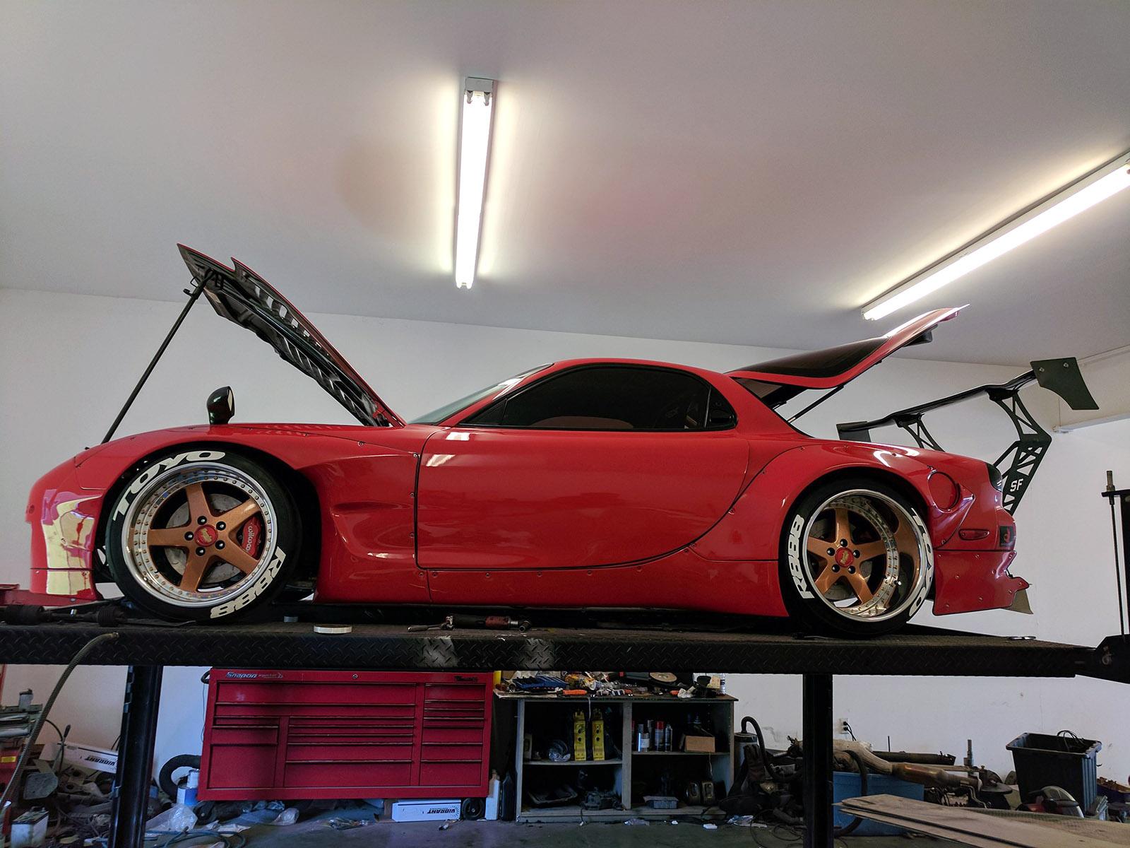 Mazda RX-7 with a Triple-Turbo 20B – Engine Swap Depot