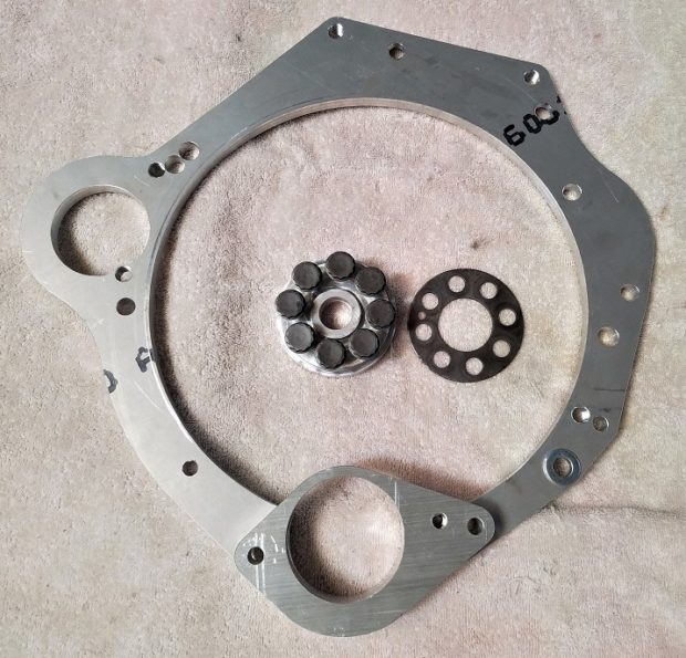 MiniTec Honda J-series Element swap adapter plate