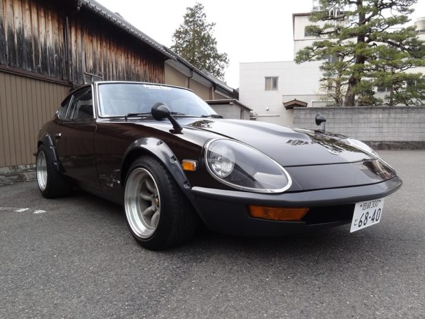 Nissan Fairlady Z with a RB26/30 inline-six