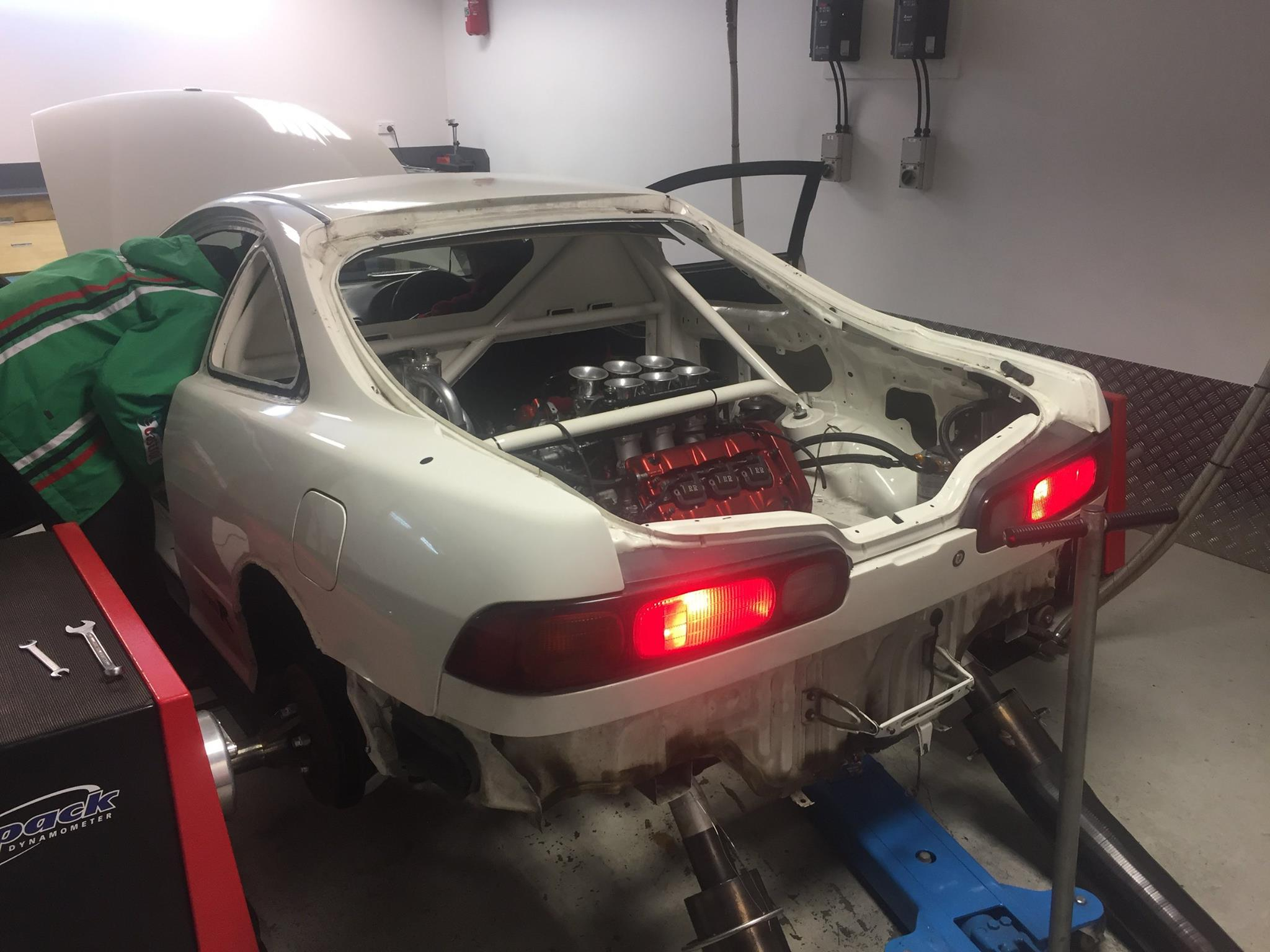 Rwd Honda Integra With A Mid Engine Nsx C V