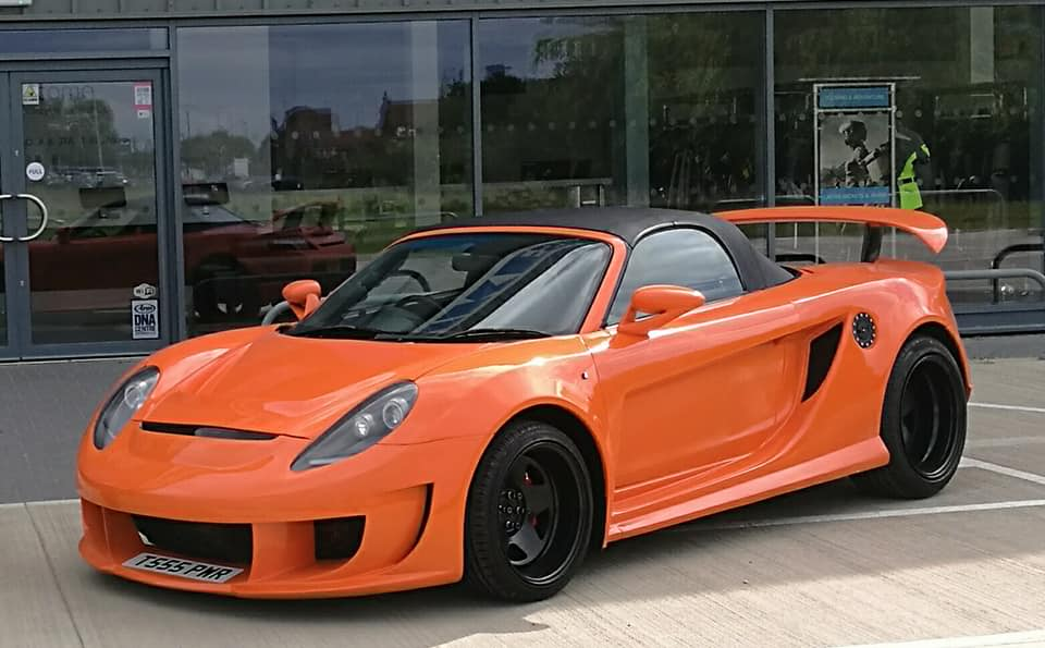 For Sale Toyota Mr2 With A Volvo Turbo Inline Five