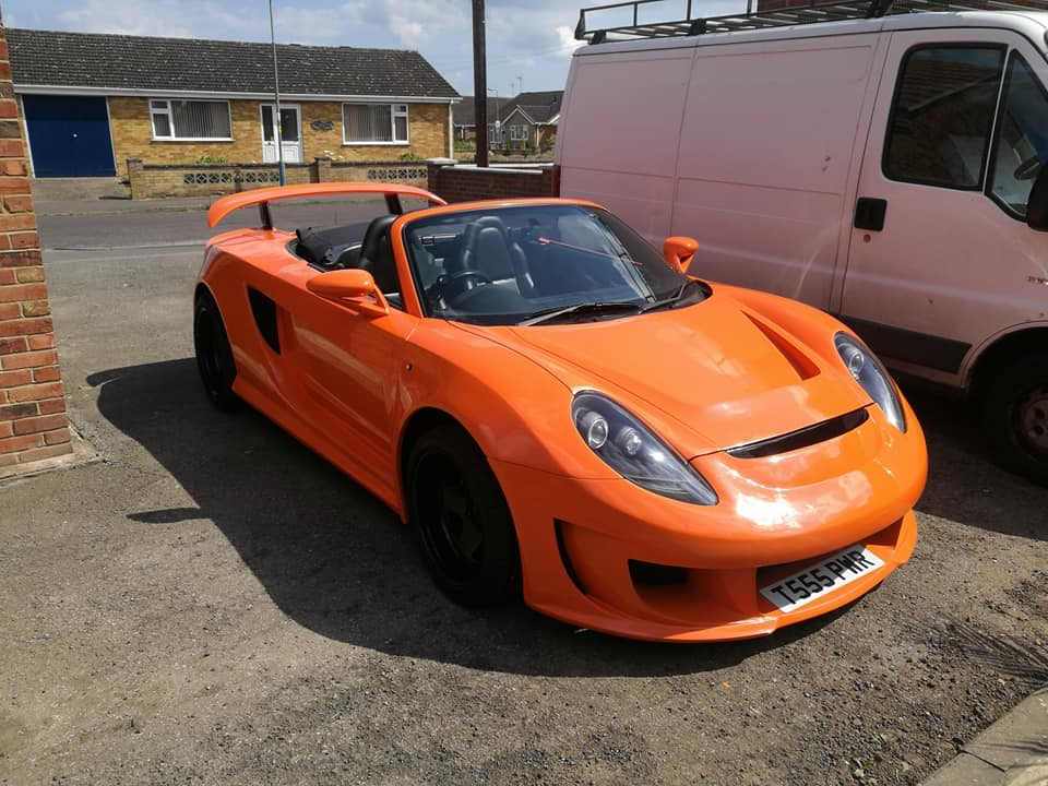For Sale: Toyota MR2 with a Volvo Turbo Inline-Five ...