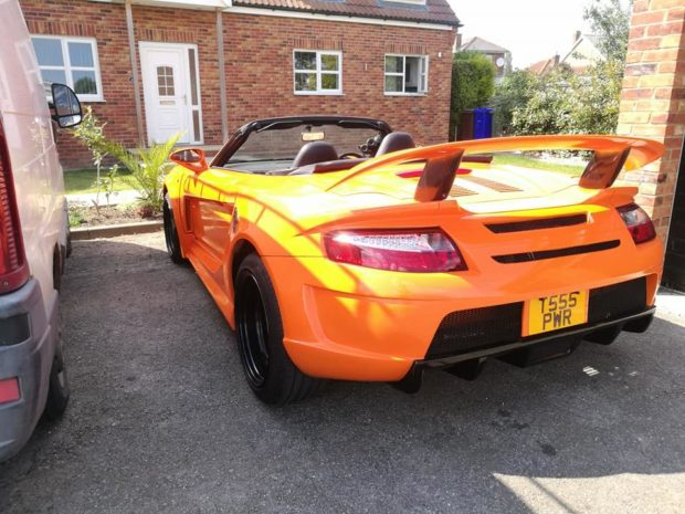 Toyota MR2 with a Volvo Turbo Inline-Five