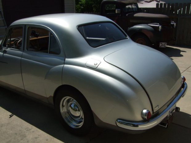 1957 Magnette with a Ford V8