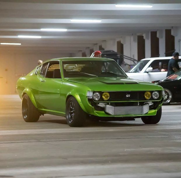 1977 Celica with a turbo 1UZ V8