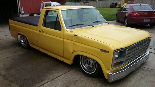 1986 Ford F-150 on a Monte Carlo Chassis