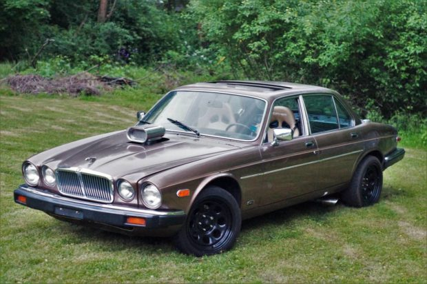 1986 Jaguar XJ with a Big-Block Chevy V8