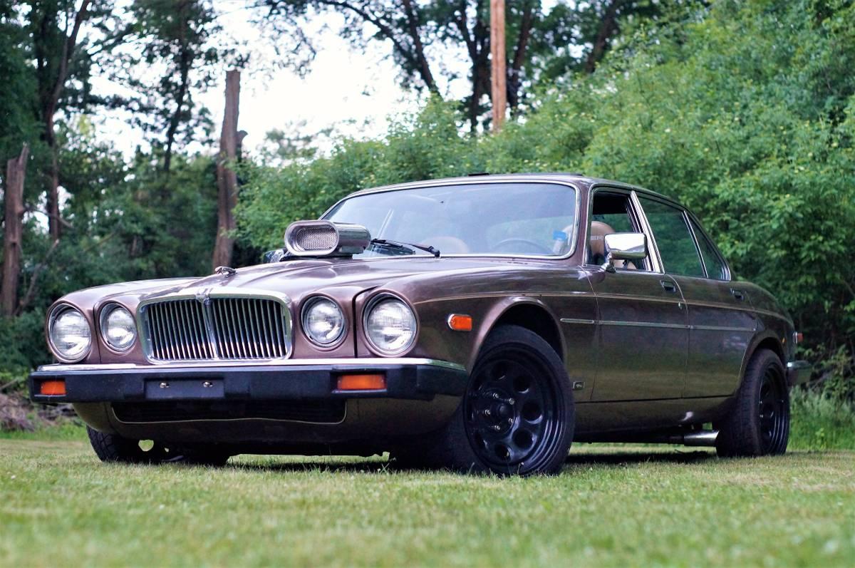 for sale 1986 jaguar xj with a big block v8 engine swap. Black Bedroom Furniture Sets. Home Design Ideas
