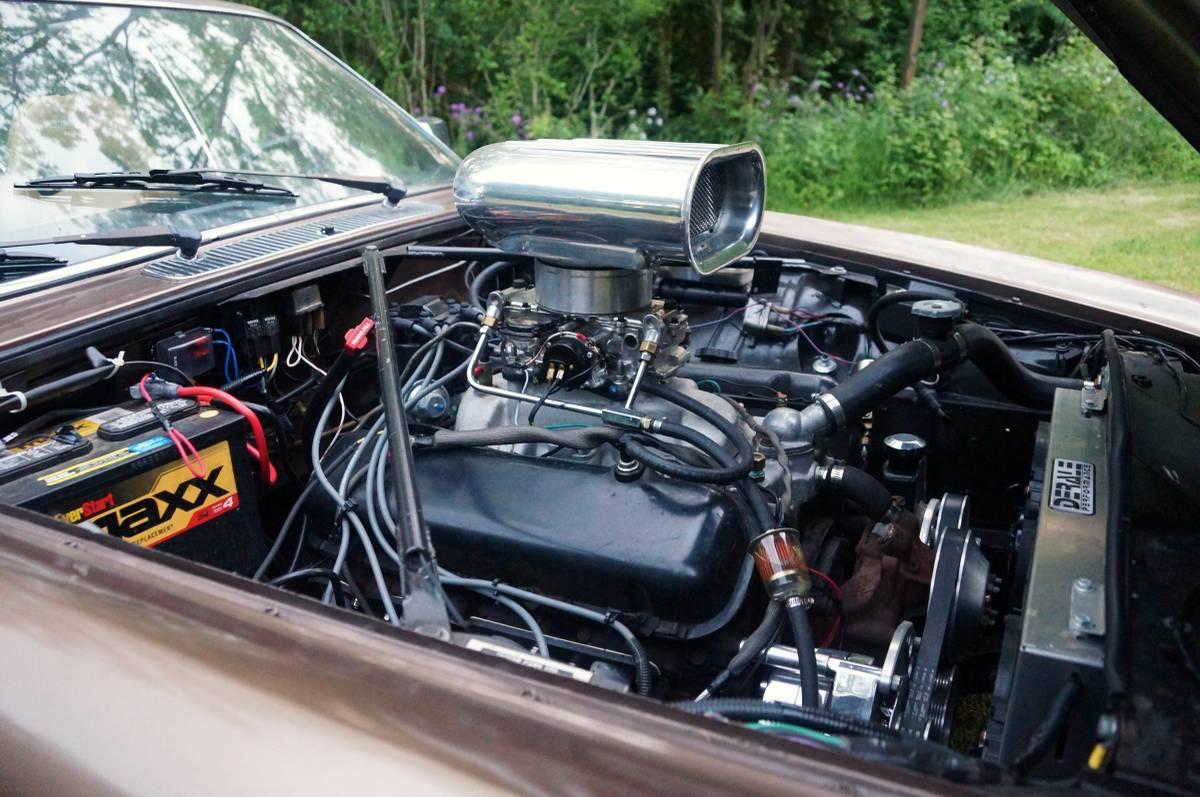 Jaguar v8 conversion