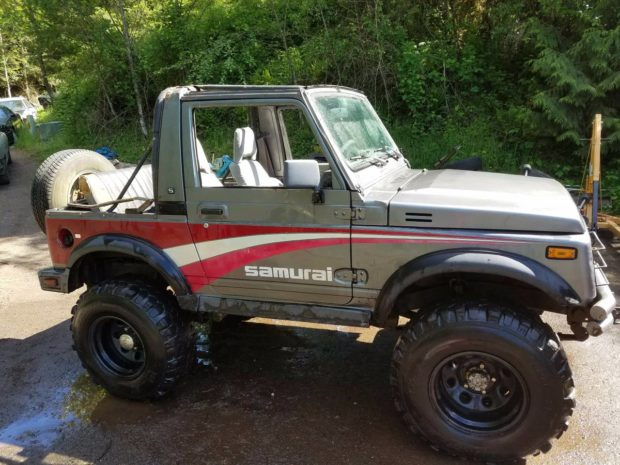 1987 Suzuki Samurai with a 12A