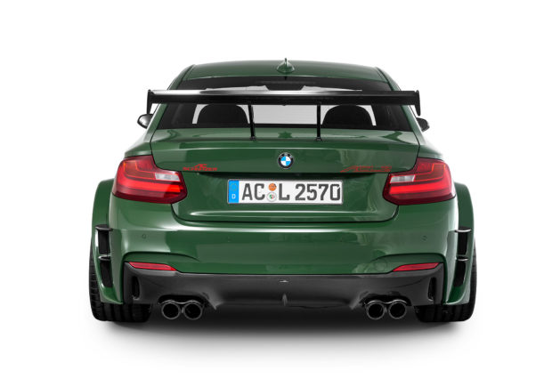 BMW 235i with a twin-turbo S55 inline-six