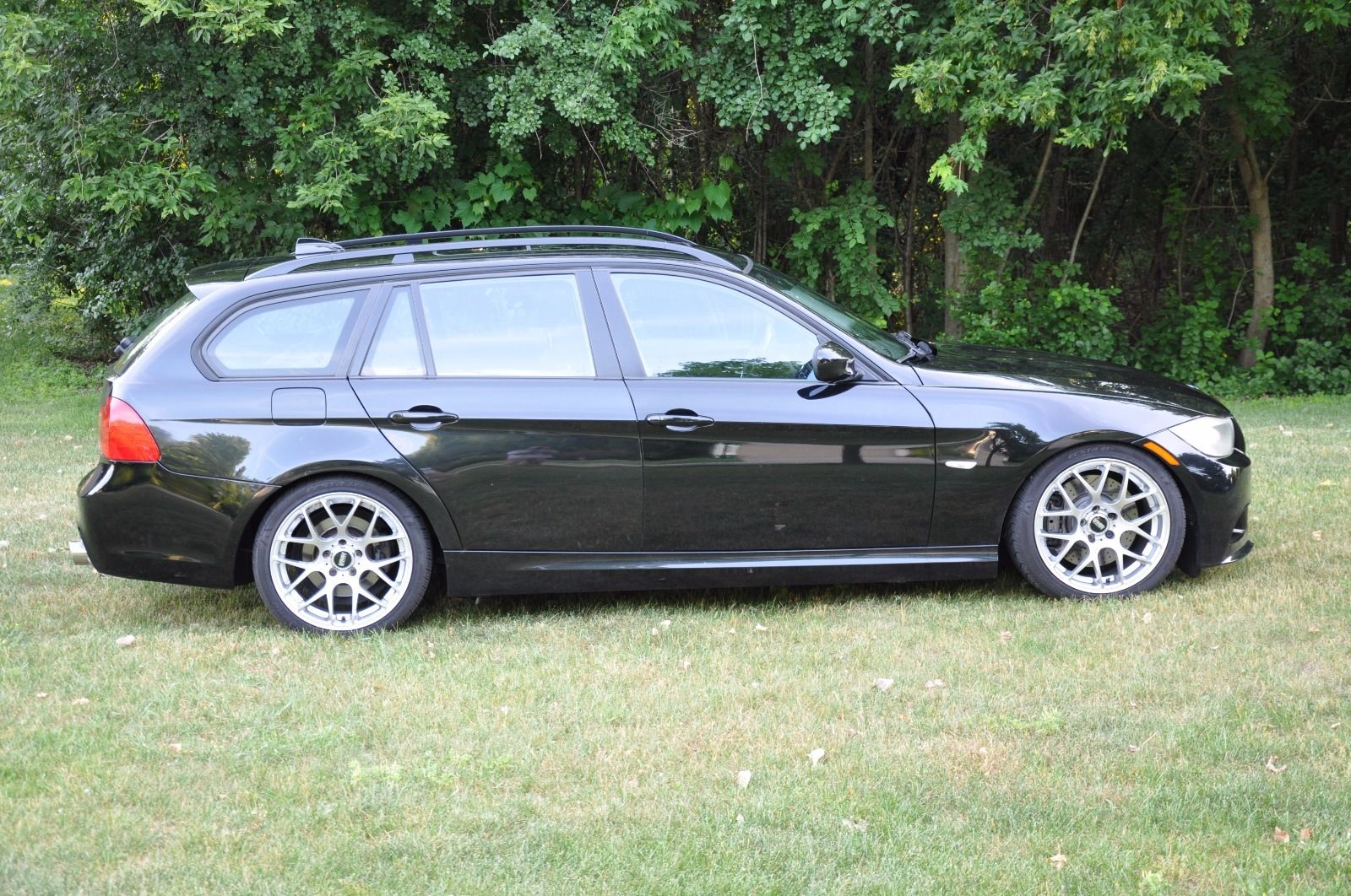 For Sale Bmw 328i Wagon With A Turbo N55 Engine Swap Depot 328 Front Wiring The Suspension Was Upgraded Hr Cup Shocks And Sport Springs M3 Control Arms Brakes Were Improved 335i Units Ecs Slotted
