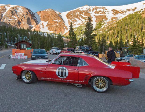 Big Red Camaro at Pikes Peak 2017