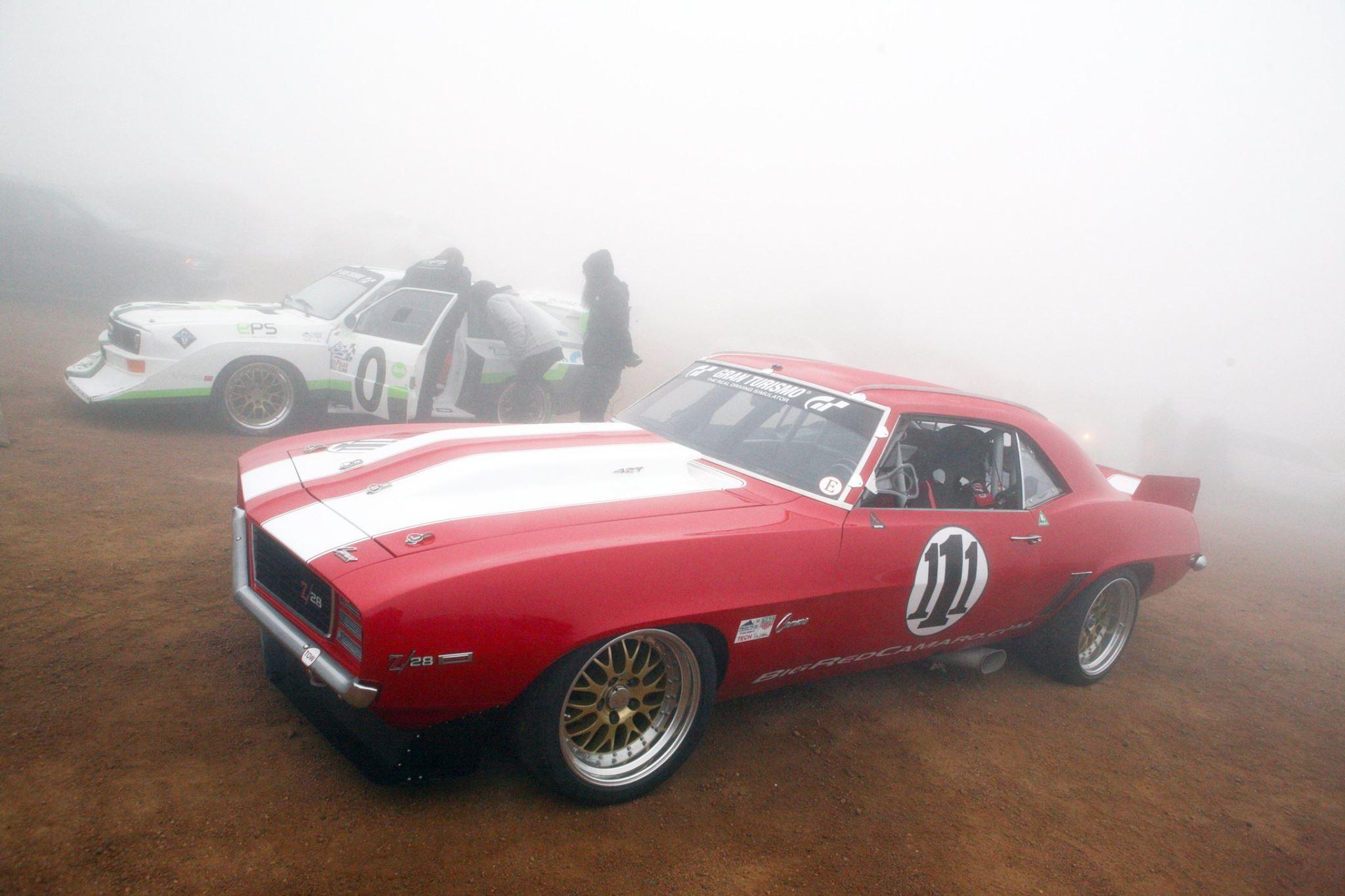 Big Red Camaro Races Pikes Peak  U2013 Engine Swap Depot
