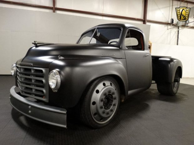 Custom 1953 Studebaker Truck with a DT 360 Diesel Inline-Six