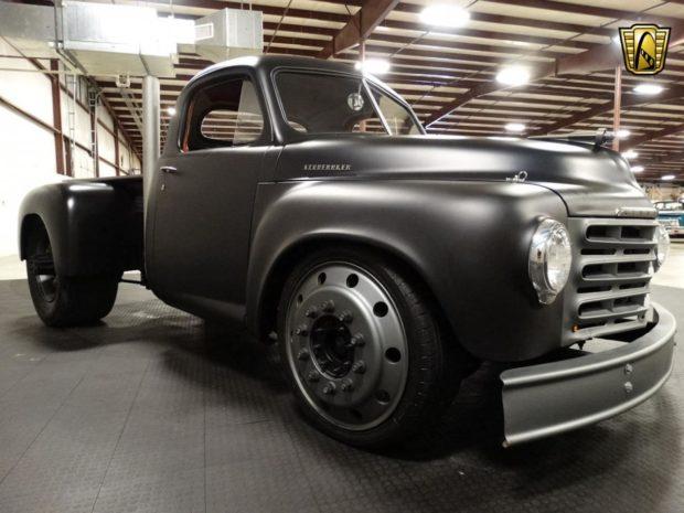 Custom 1953 Studebaker Truck with a DT 360 Diesel Inline-Six