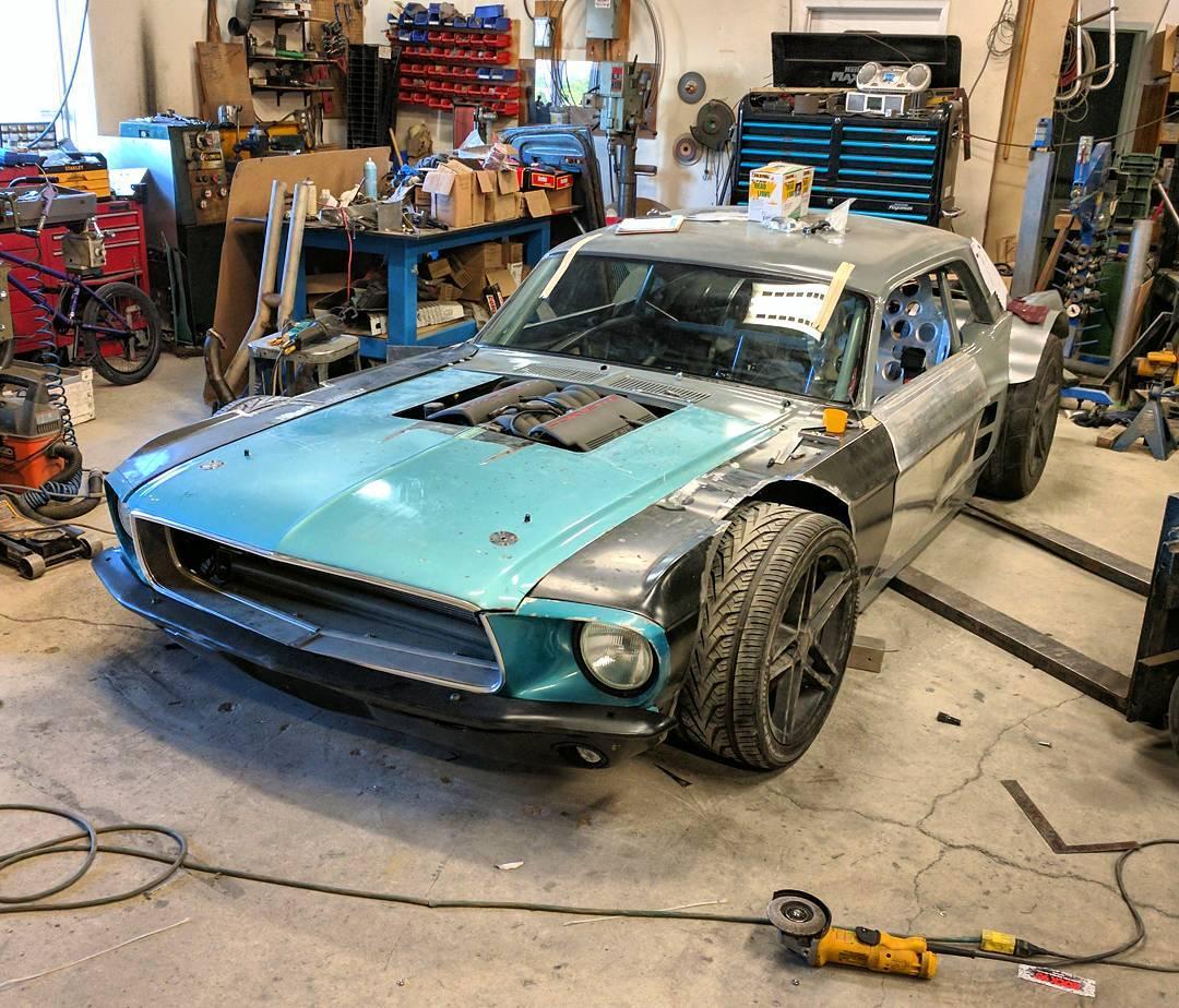 Custom 1967 Mustang With A Corvette Powertrain Update