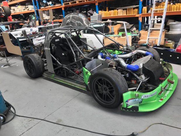Hyundai Excel With A Supercar V8  U2013 Engine Swap Depot
