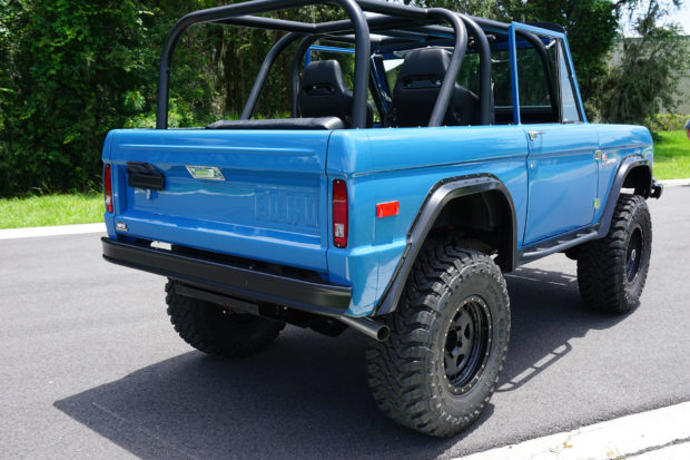 Ford Bronco with a Coyote V8