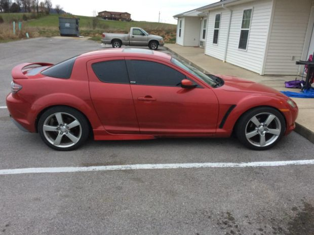 Mazda RX-8 with a Nissan VH45 V8