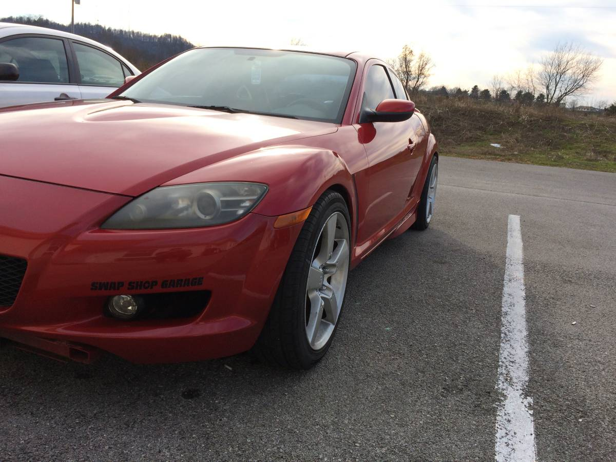 For Sale: Mazda RX-8 with a VH45 V8 – Engine Swap Depot