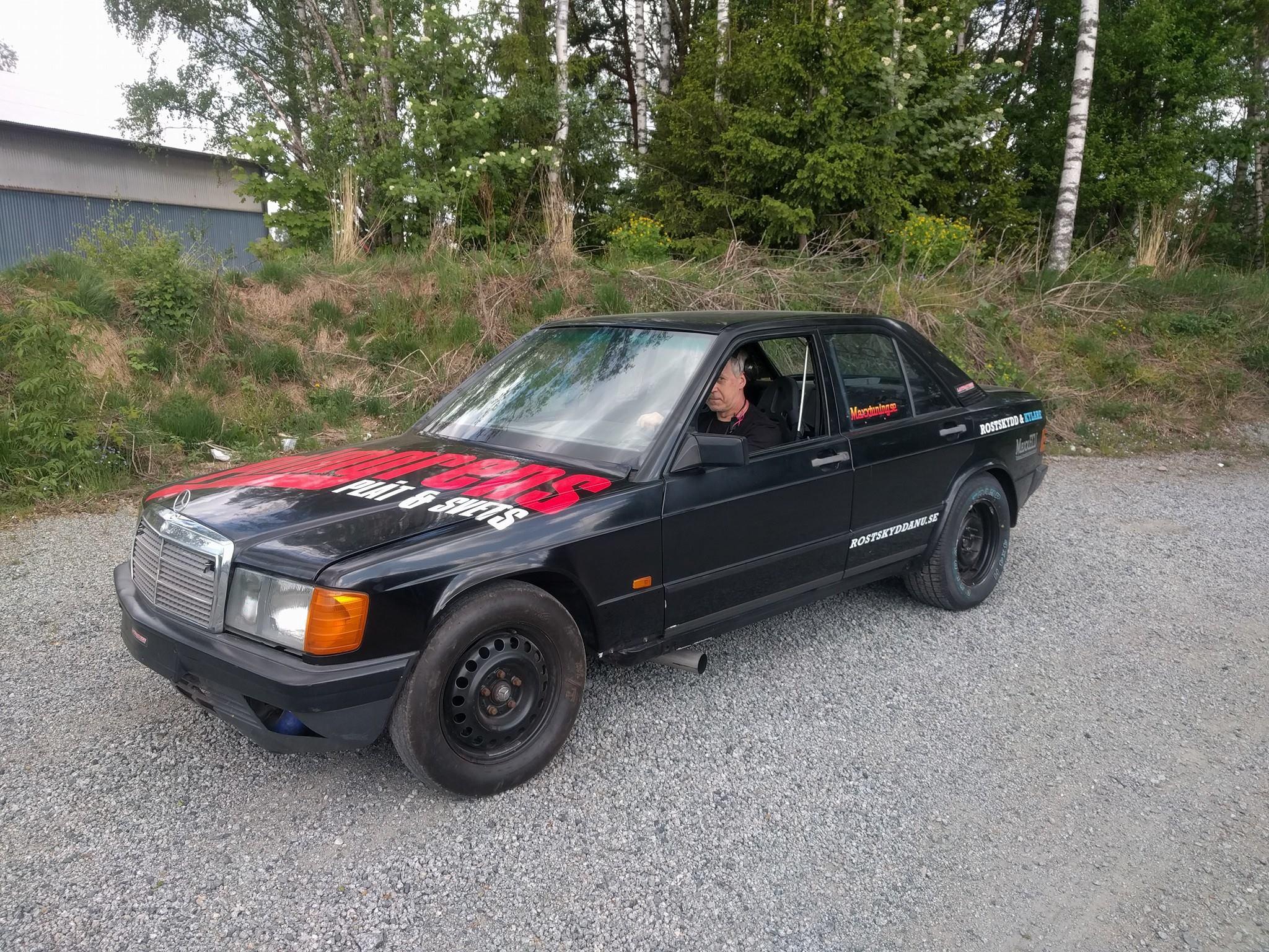 Mercedes  Chevy  Engine Swap