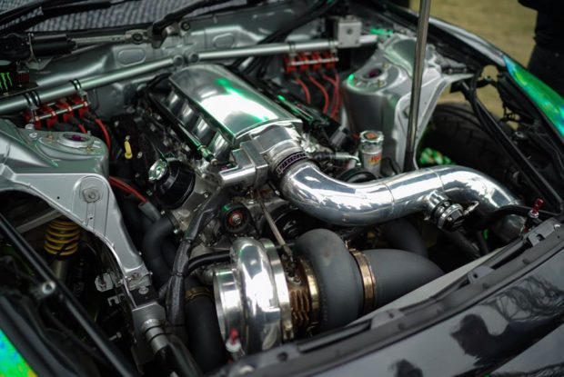 Nissan R35 with a Turbo LSX 454 V8