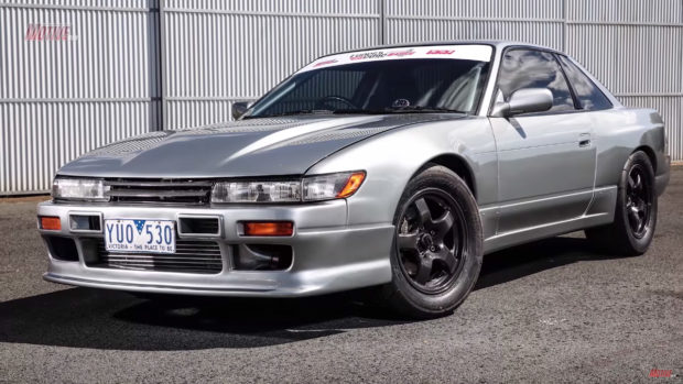 Nissan S13 with a RB25-30 and GTR drivetrain