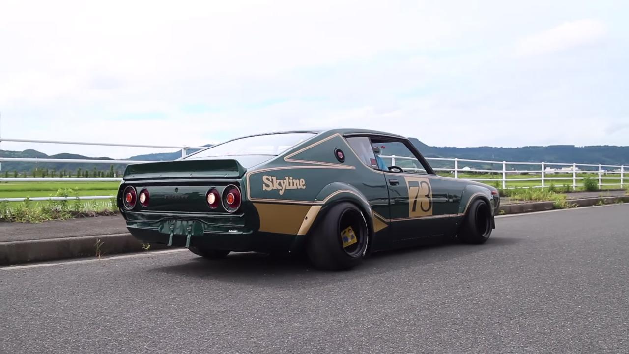 Nissan Skyline with a 13B rotary