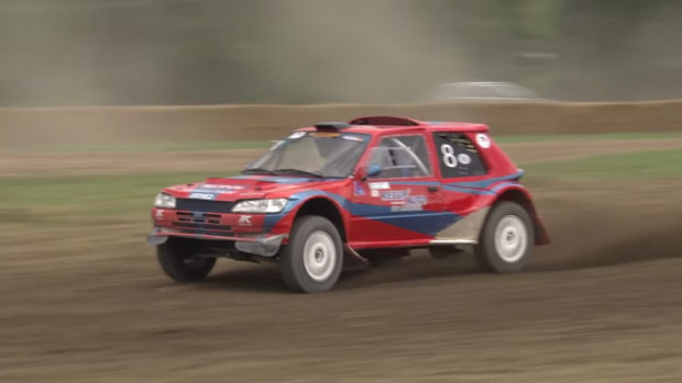 Peugeot 205 with a 20B Rotary