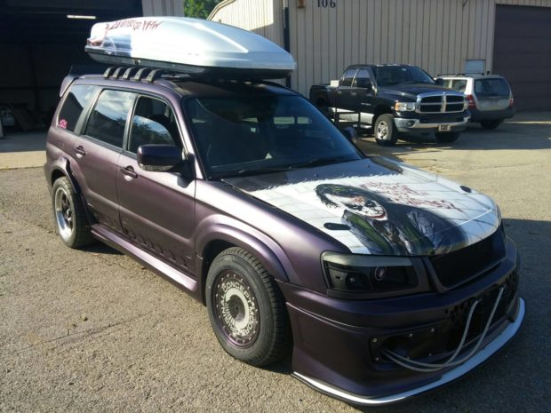 Subaru Forester with a Supercharged LSx V8