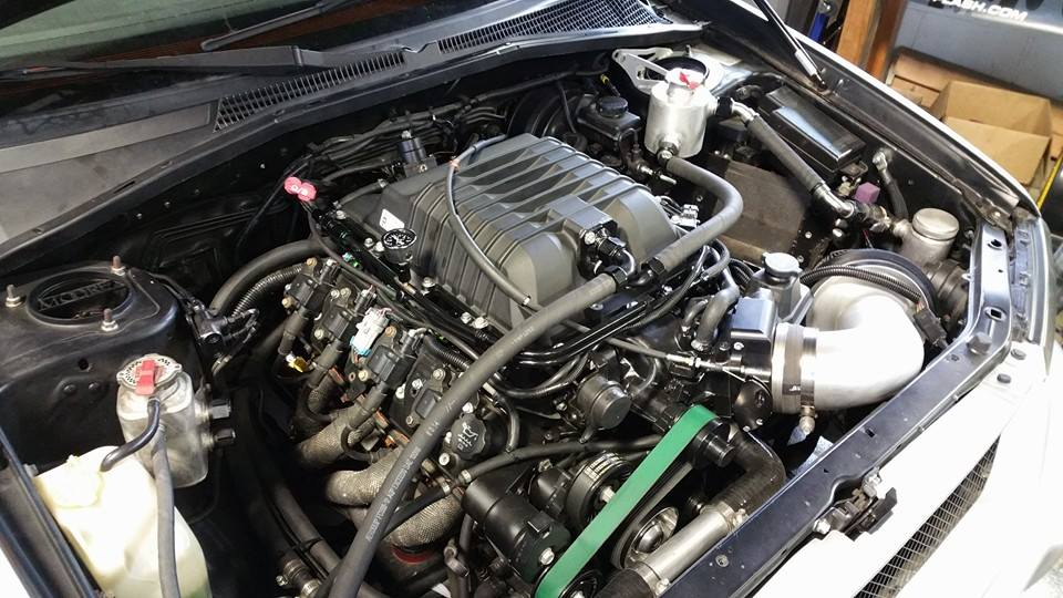 Subaru Forester With A Supercharged Lsx Engineswapdepot Com