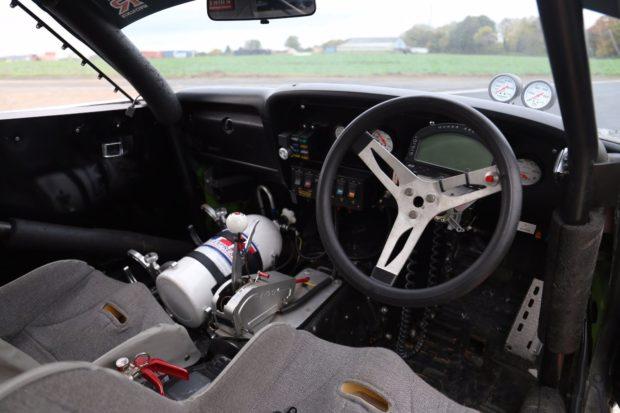 Toyota Celica with a turbo 2JZ inline-six