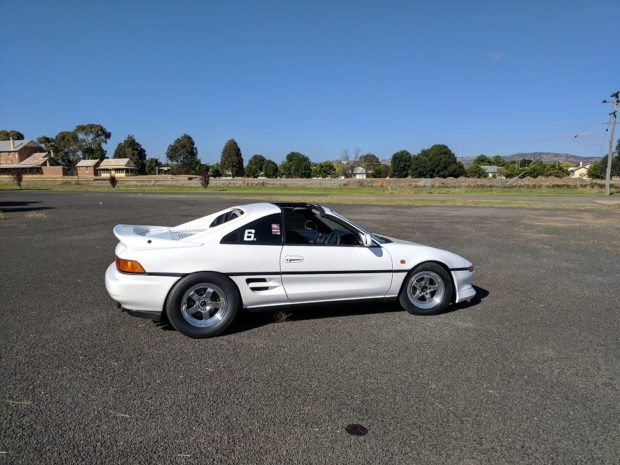 Toyota MR2 with a Turbo K24