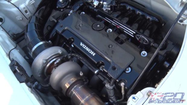 Toyota Mr2 With A Turbo K24  U2013 Engine Swap Depot