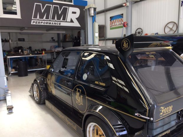 VW Golf with a bored and stroked 1.8T