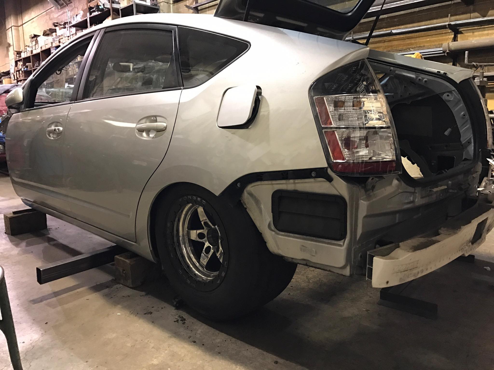 Custom Toyota Prius With A Hellcat V