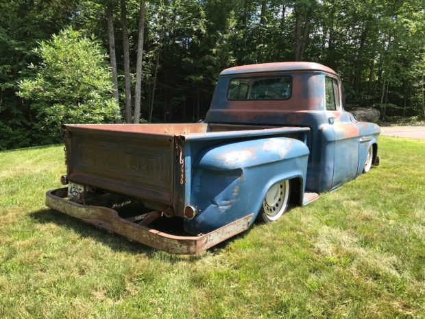 1955 Chevy 3100 truck with a LSx Vortec V8