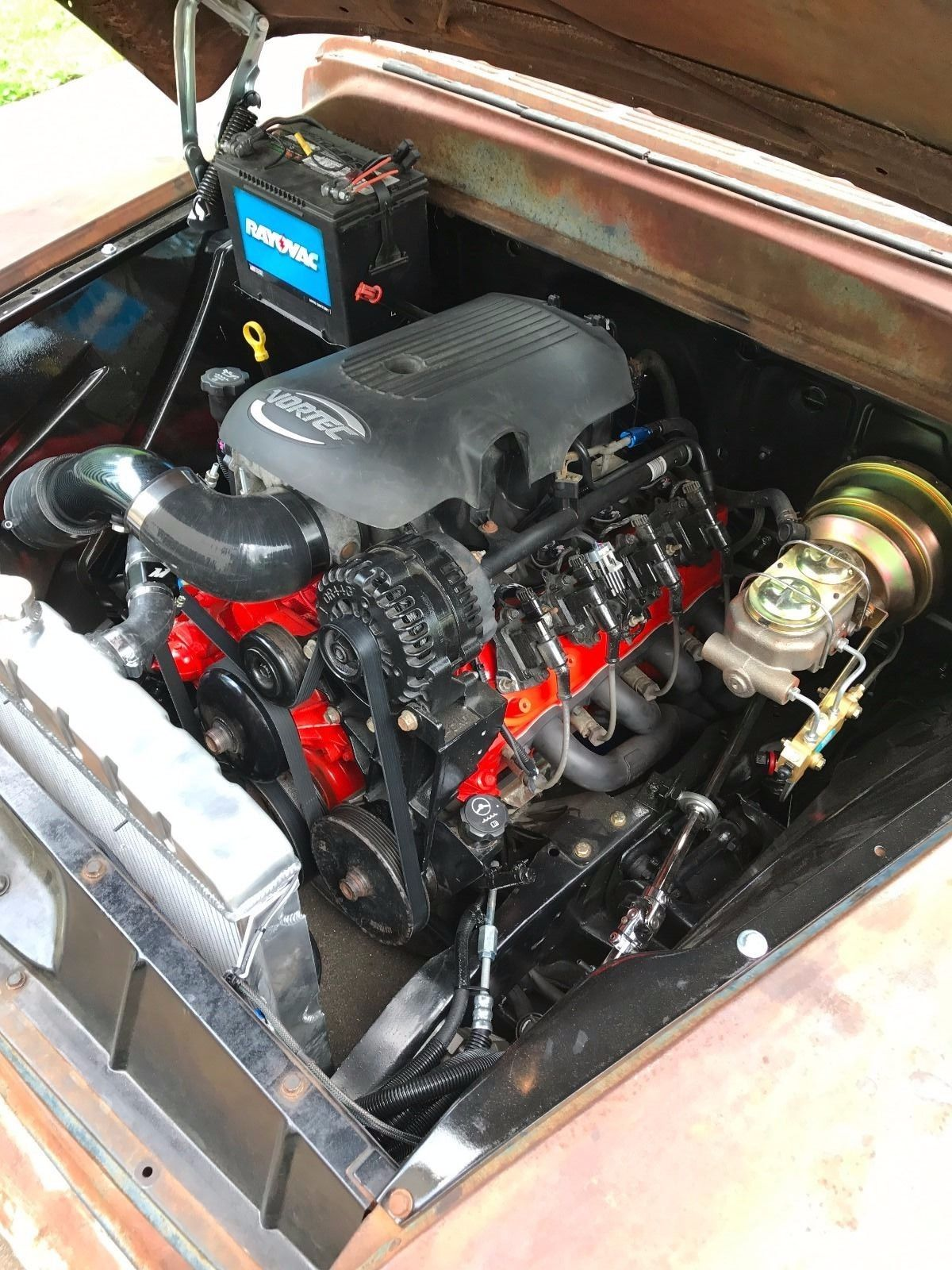 1955-Chevy-3100-truck-with-a-LSx-V8-06  Swap Wiring Harness on best street rod, fuel pump, universal painless, dodge engine, wire plus chopper, hot rod, fog light, aftermarket radio, classic truck,