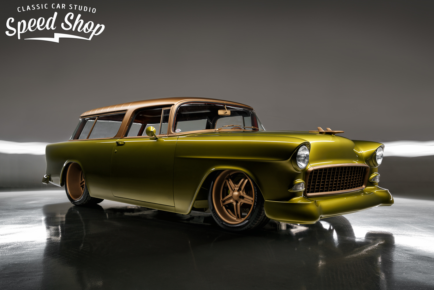 1955 Nomad With A 509 Ci Chevy Big Block V8 Engine Swap