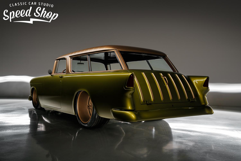1955 nomad with a 509 ci chevy big block v8 engine swap depot. Black Bedroom Furniture Sets. Home Design Ideas