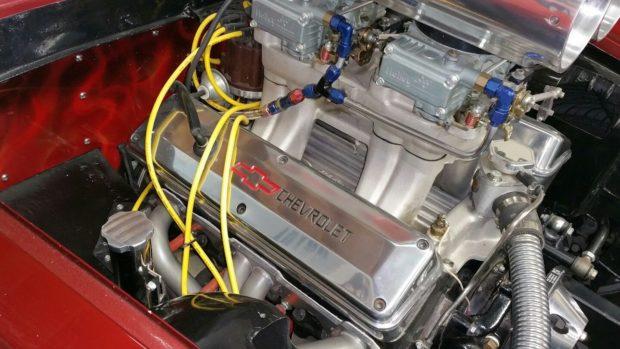 1963 Ferrari 250 GTE with a Chevy 302 V8