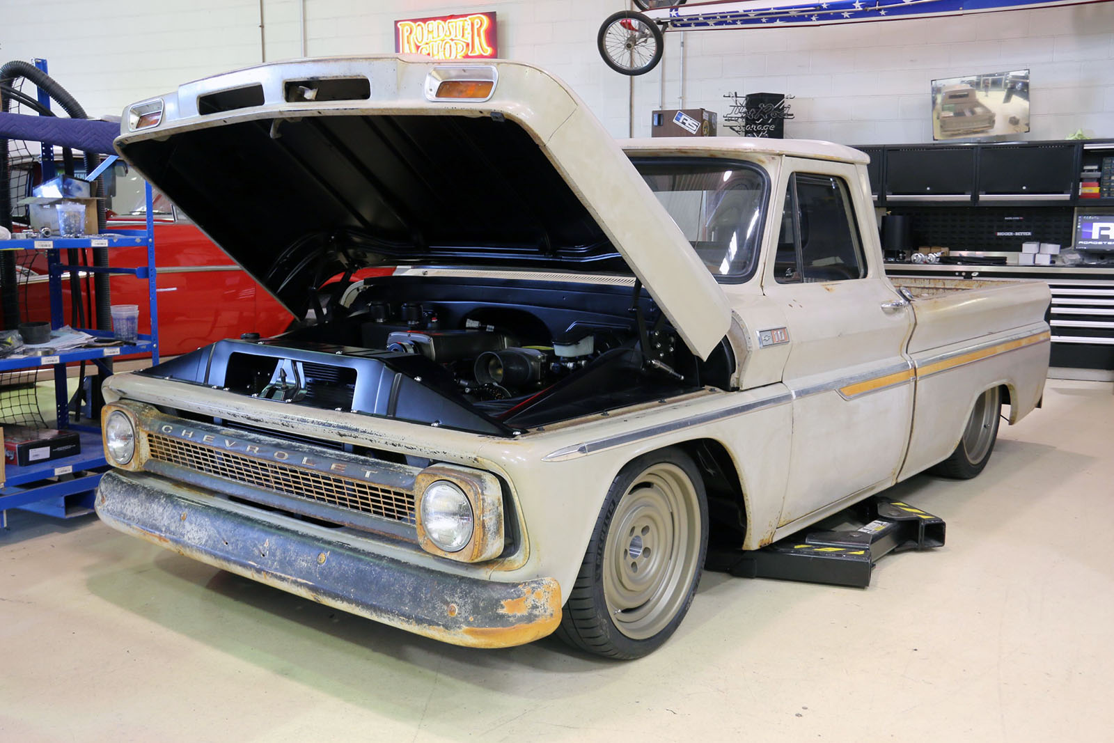 1965 C10 With A Supercharged Lsx  U2013 Engine Swap Depot