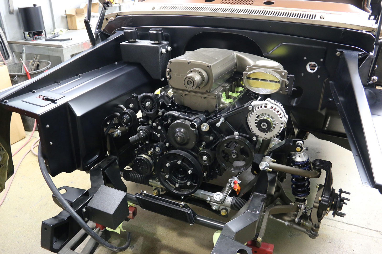 1965 C10 with a Supercharged LSX – Engine Swap Depot