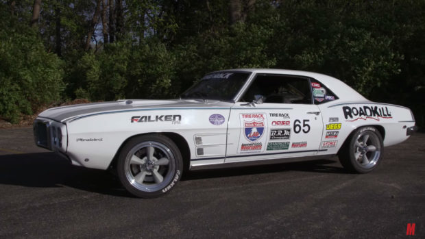 1969 Pontiac Firebird with a 400 ci V8