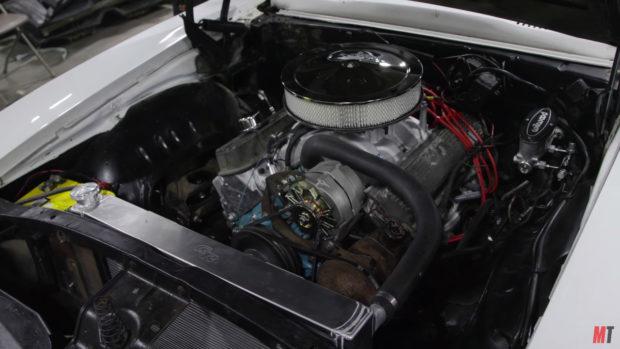 1969 Pontiac Firebird with a 400 ci V8